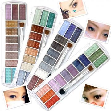 アイシャドウの色の選び方、塗り方は目の形で選びましょう!のサムネイル画像