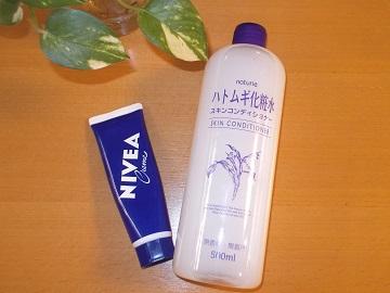 最強のプチプラコンビ!ニベア&ハトムギ化粧水を使いこなそう!のサムネイル画像