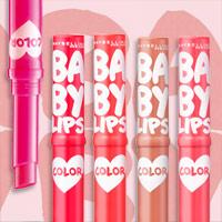 全5色♪BABY LIPS♪メイベリン ニューヨークのリップクリームカラーのサムネイル画像
