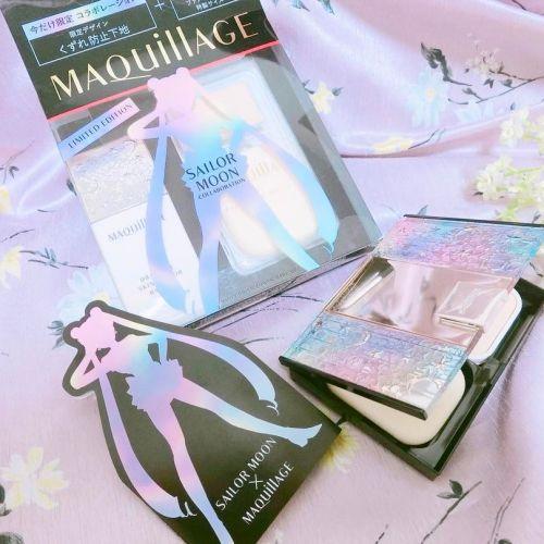 4/21発売!《マキアージュ&セーラームーンコラボ》コスメをGET♡のサムネイル画像