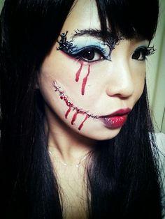 閲覧注意!?リアルすぎるハロウィンや仮装に使える血糊メイクのサムネイル画像