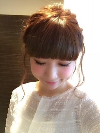 大人気ブロガー桃さん♡ 簡単可愛いヘアアレンジ キュートです☆彡のサムネイル画像